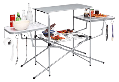 GYMAX Aluminum Folding Camping Table
